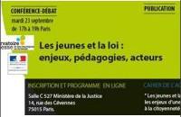 conference debat jeunes et loi